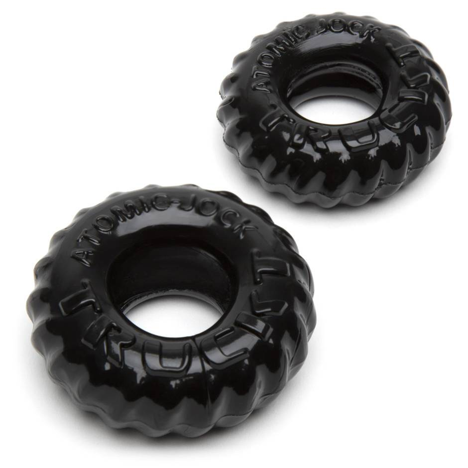 Oxballs Cock Ring and Ball Ring Set (2 Pack)