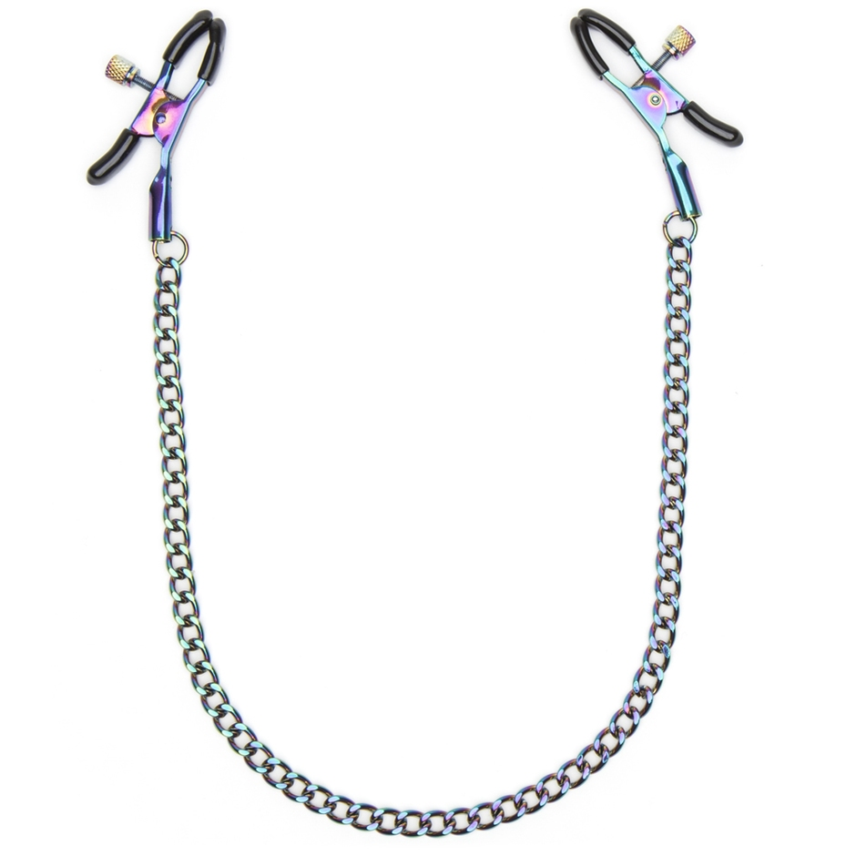Bondage Boutique Rainbow Nipple Clamps