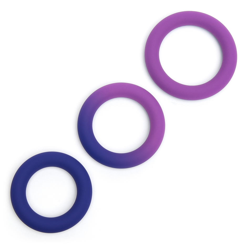 Colorplay Color-Changing Silicone Cock Ring Set