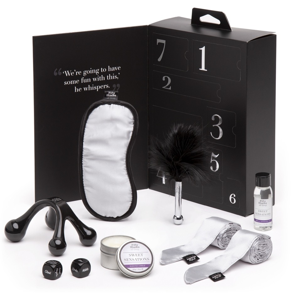 Fifty Shades of Grey Sweet Sensations Gift Set (7 Piece)