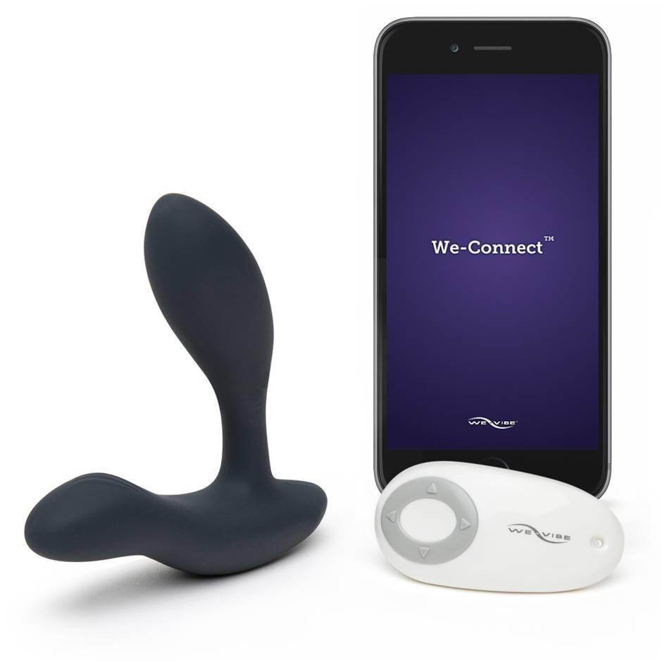 We-Vibe Vector Rechargeable Remote Control Prostate Massager