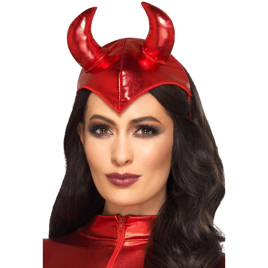 Fever Red Devil Headband