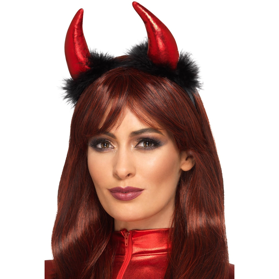 Fever Furry Devil Horns Headband