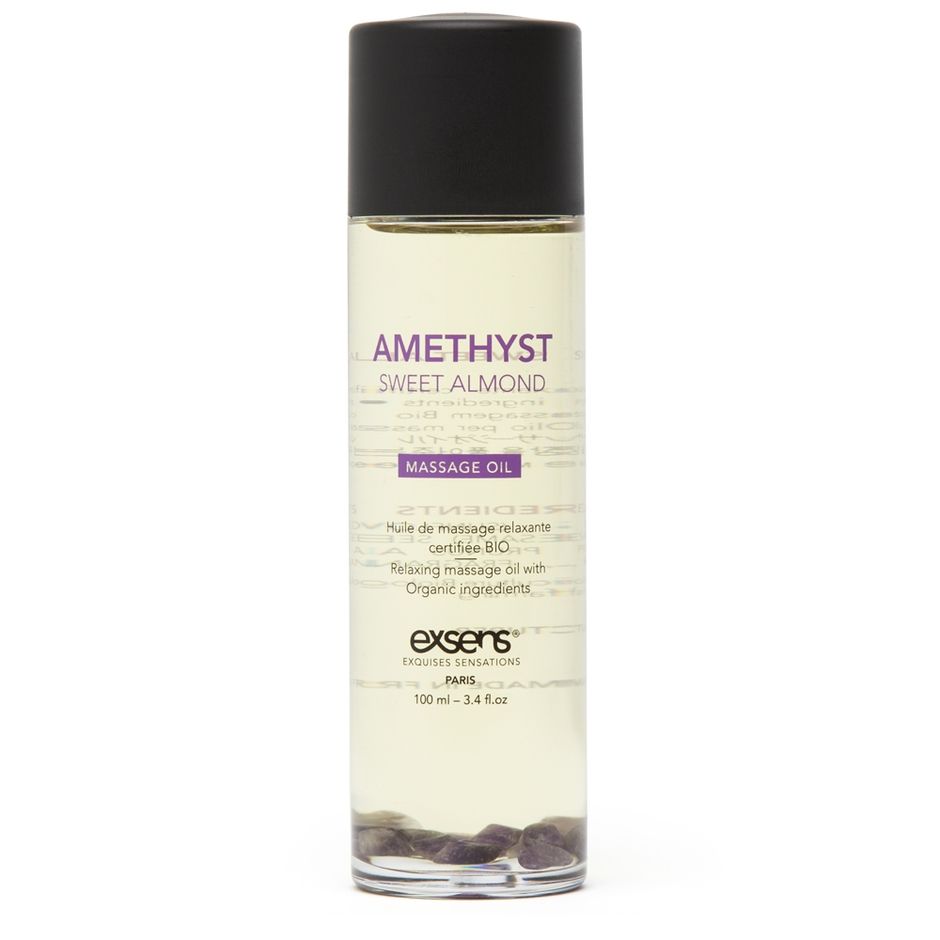 EXSENS Amethyst Sweet Almond Massage Oil 3.4 fl oz