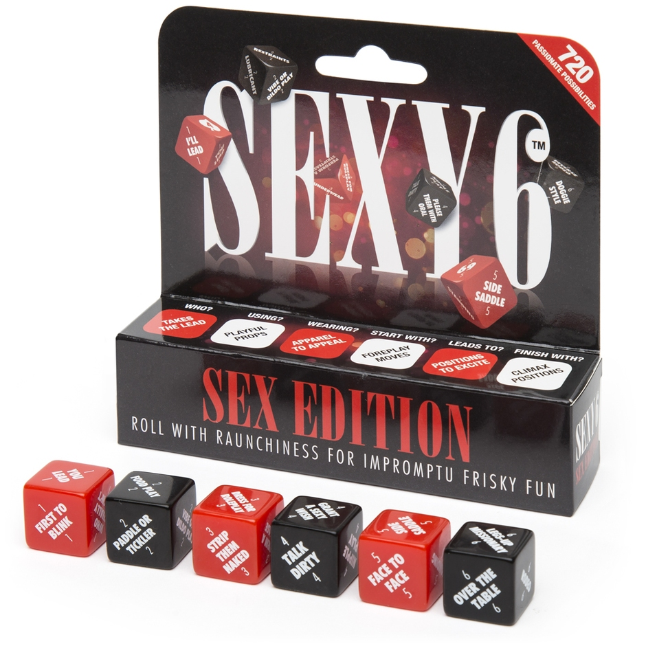 Sexy 6 Sex Dice Game
