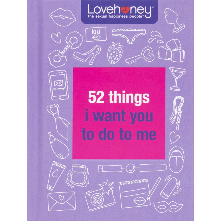 Lovehoney 52 Things I Want You To Do To Me