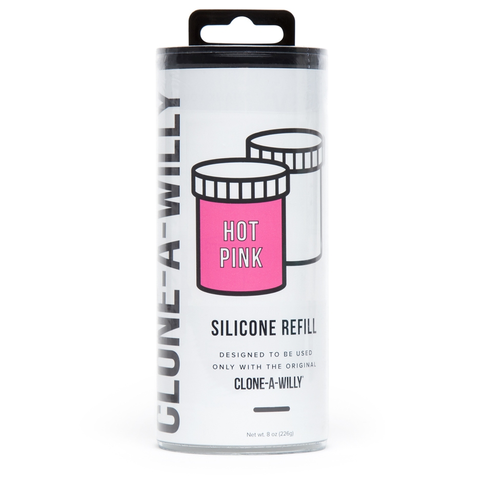 Clone-A-Willy Hot Pink Silicone Refill
