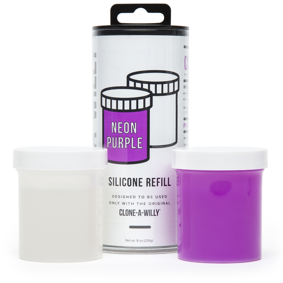 Recharge silicone violet, Clone-A-Willy