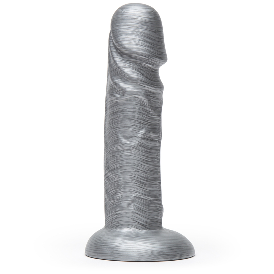 Lovehoney Time to Shine Realistic Silver Dildo 6 Inch