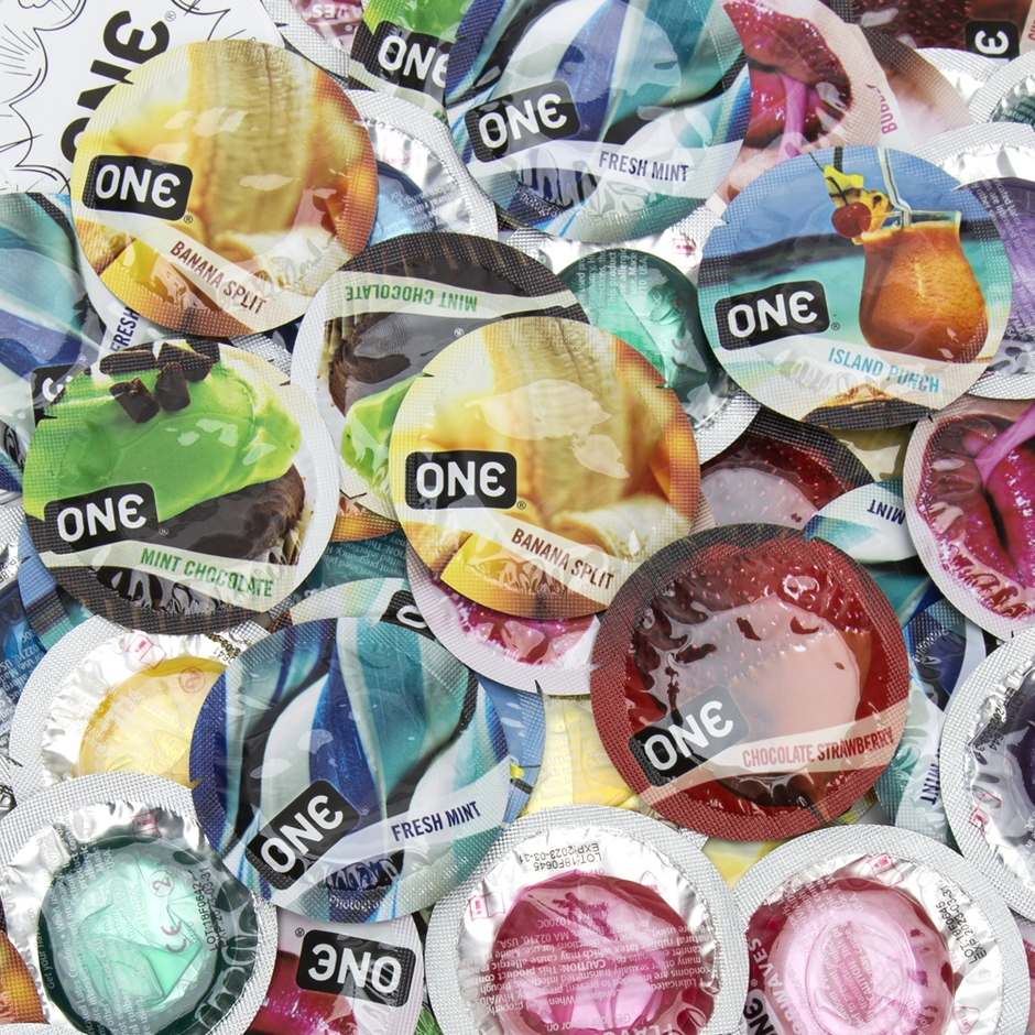 ONE Flavor Waves Condoms (100 Count)