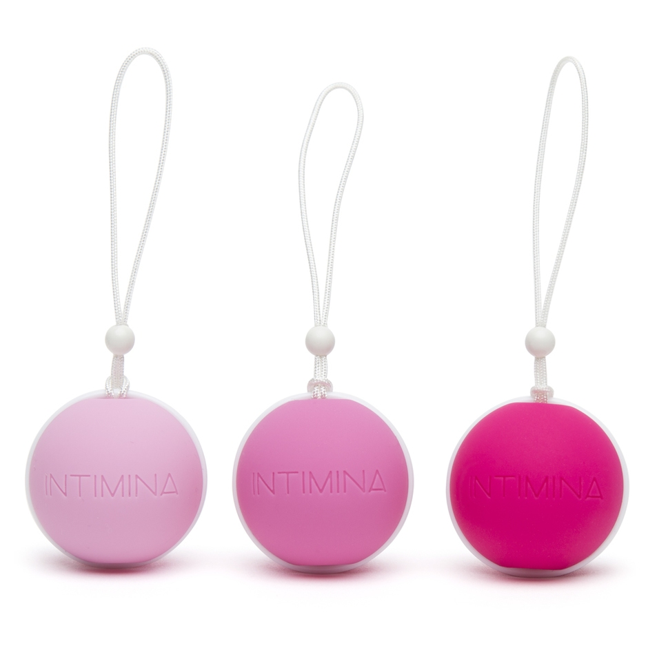 Intimina Laselle Weighted Jiggle Ball Set (3 Piece)