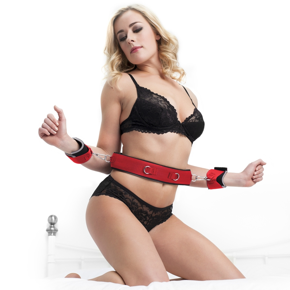 Scarlet Bound Wrist-to-Waist Belt Restraint