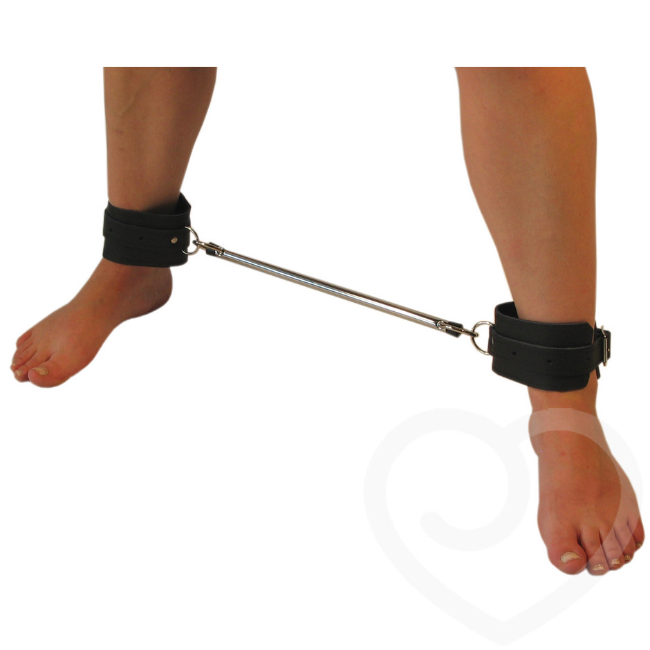 Spreader Bar and Leather Cuffs  12 Inch