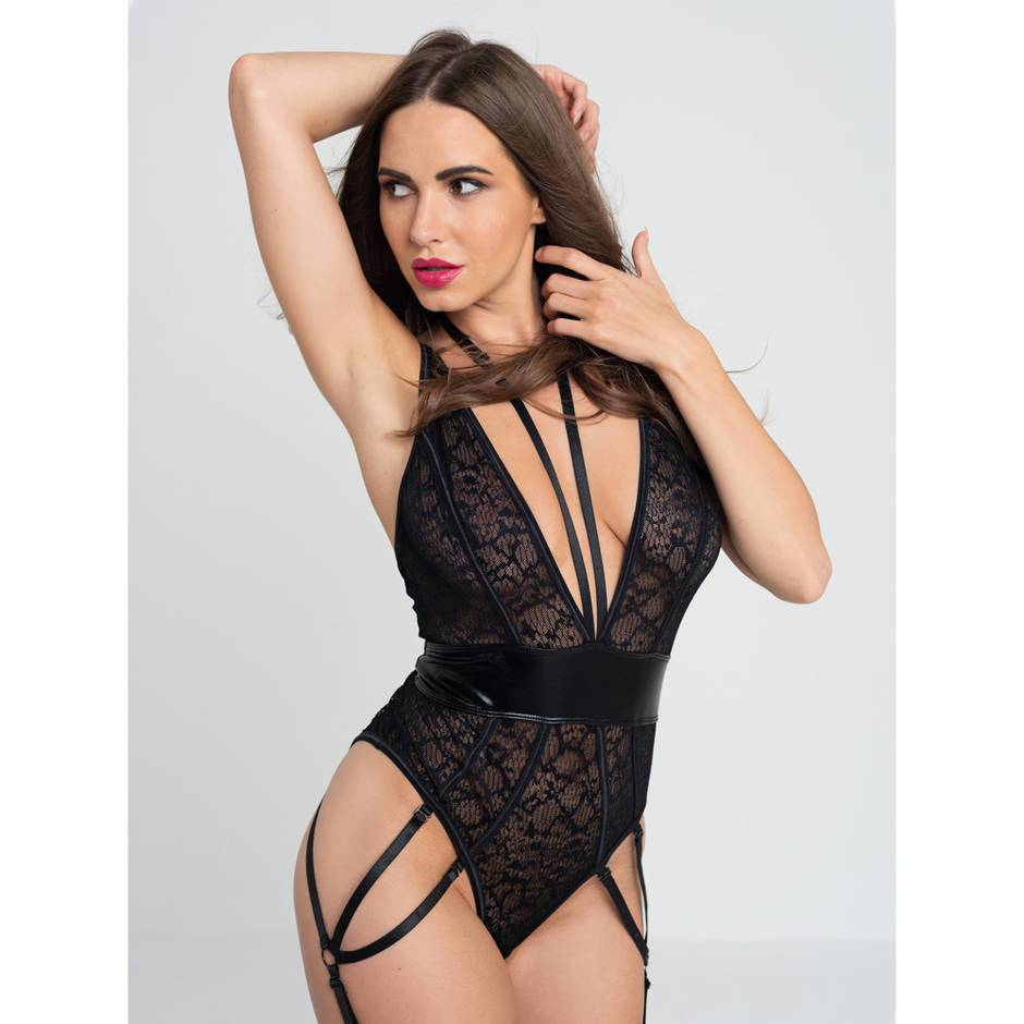 Lovehoney Fierce Serpentine Snakeskin Lace Body
