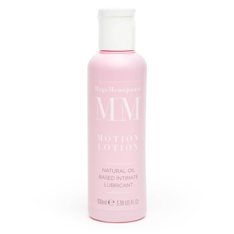 MegsMenopause Motion Lotion Oil-Based Intimate Lubricant 100ml