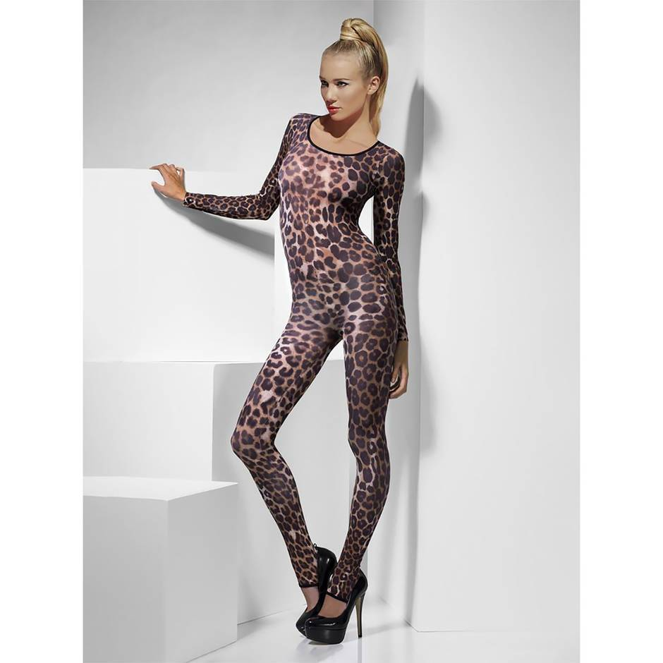 Fever Animal Print Catsuit