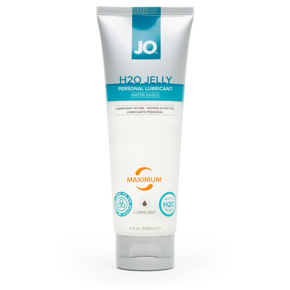 System JO Premium H2O Jelly Lubricant 120ml