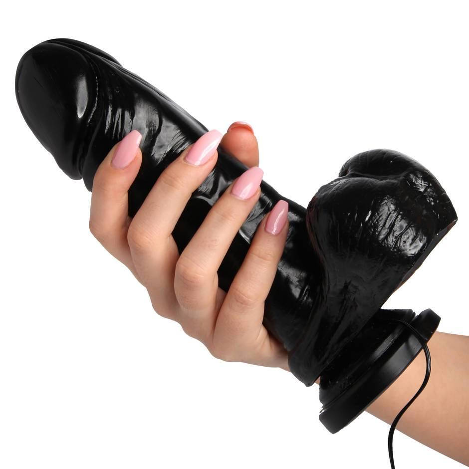 8 inches cock vibrator creates a intense handsfree orgasm 5
