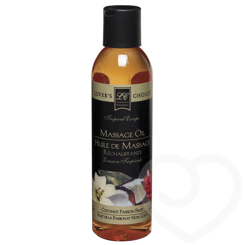 Coconut Passion Fruit Massage Oil