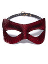 Paul Seville Leather Snakeskin Moulded Mask