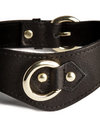 The Model Traitor Thin Leather Slave Collar