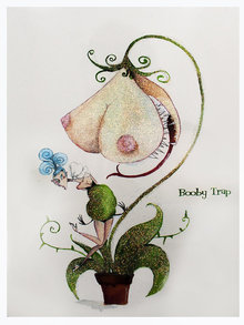 Andrea Kett Booby Trap Greeting Card