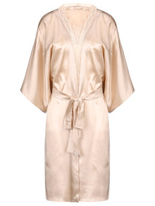 Stella McCartney Lingerie Clara Whispering Short Silk Robe