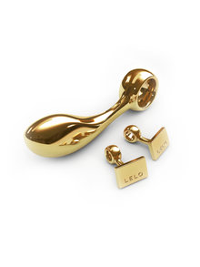 Earl Gold Plated Butt Plug and Cufflinks