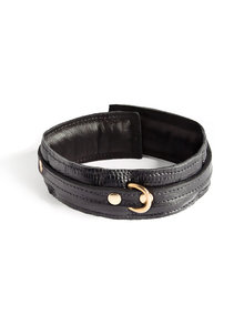 Coco de Mer Leather Collar