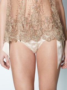 Felice Art Couture Morning Dew Sheer Knickers