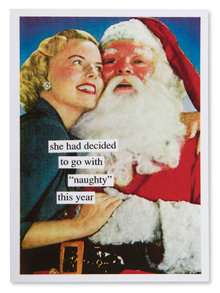 Naughty This Year Christmas Card
