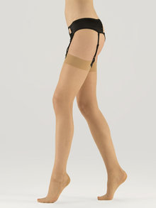 What Katie Did 15 Denier Metallic Seamed Stockings