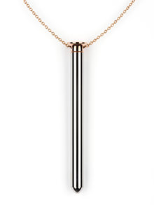 Crave Vesper Vibrator Necklace Rose Gold