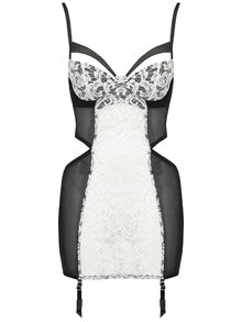 Fifty Shades Darker by Coco de Mer Escala Suspender Dress