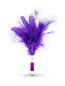 Lelo Tantra Feather Teaser Tickler Purple