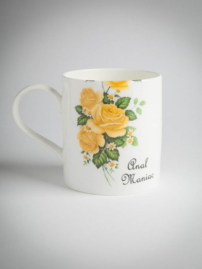 Outlandish Creations 'Anal Maniac' Naughty Mug