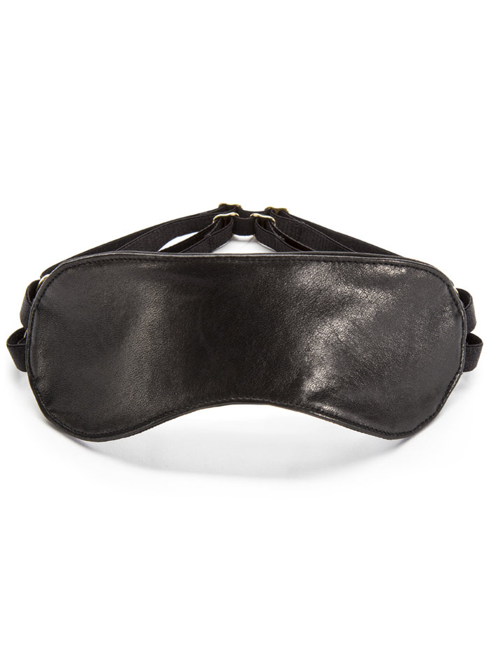 DSTM Leather Sleeping Mask