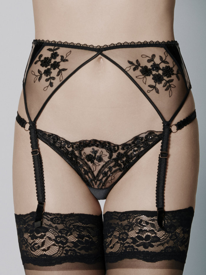 Loveday London Oncilla Suspender Belt