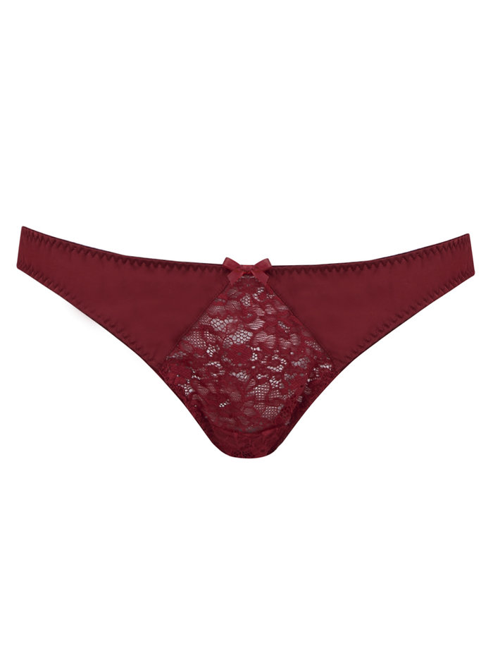Fifty Shades Darker by Coco de Mer Red Room Peek-a-Boo Bikini Brief