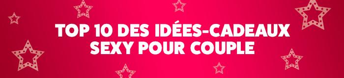 Top 10 idées cadeaux couple Noël