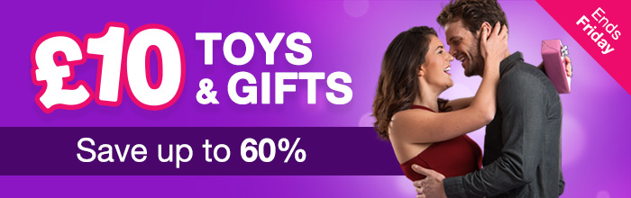Toys and gifts for 10! save up to 60% - ends Friday!