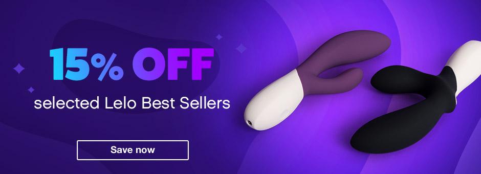 15% off selected lelo best sellers