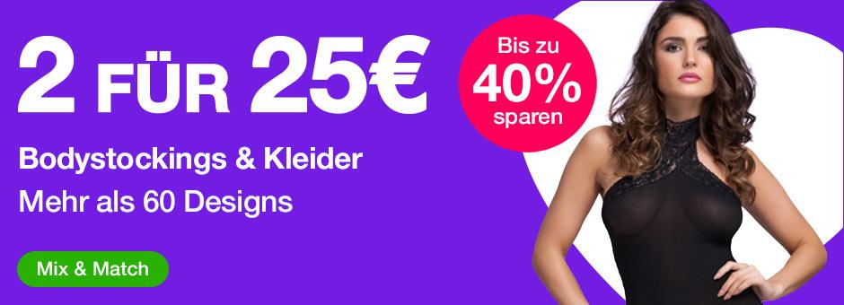 2 für 25€ Bodystockings und Kleider