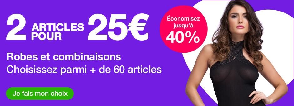 2 pour 30€ Robes et combinaisons