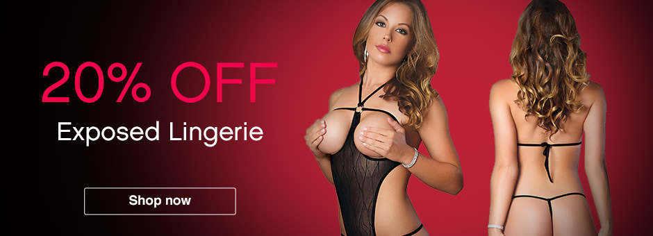 20% off Exposed Lingerie