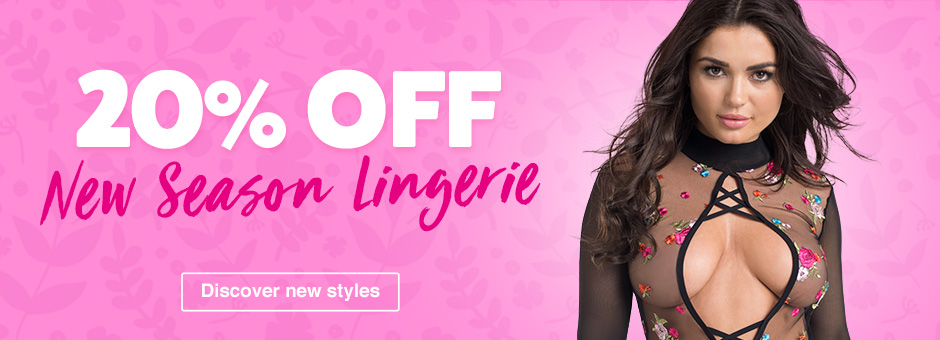 20% off new season lingerie