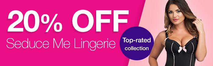 20% OFF Seduce Me Lingerie