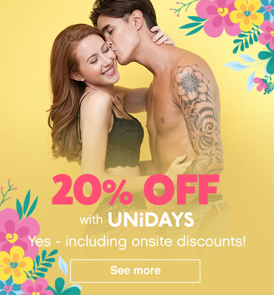 UNIDAYS Summer banner free gift oh spot mobile