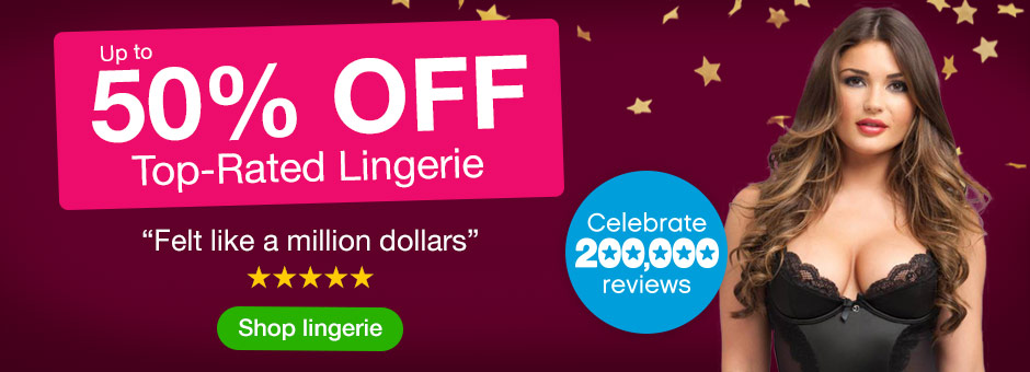 Up to 50% OFF top-rated Lingerie