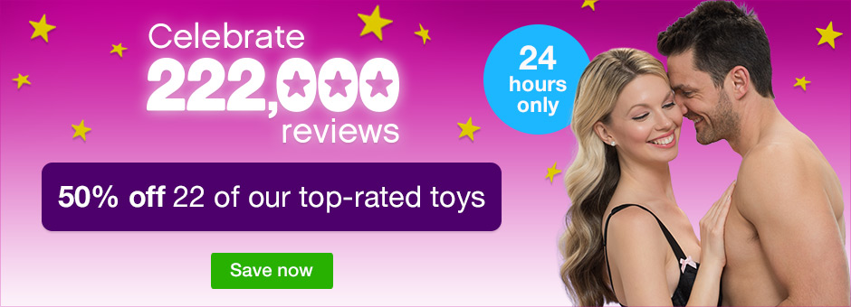 Celebrate 222,000 reviews - 50% off 22 of our top-rated toys